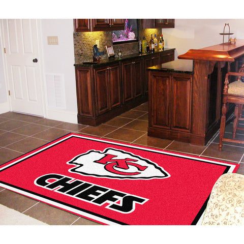 Kansas City Chiefs NFL Floor Rug 5x8