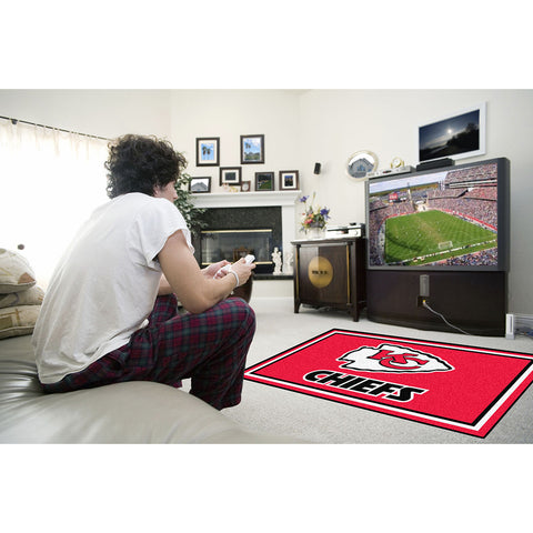 Kansas City Chiefs NFL Floor Rug 4x6
