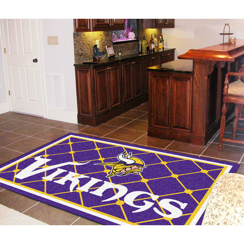 Minnesota Vikings NFL Floor Rug 5x8