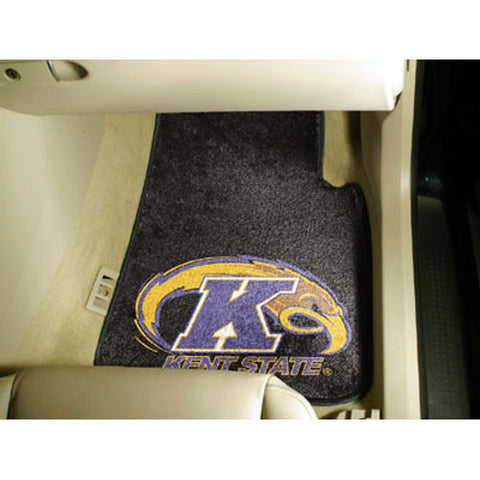 Kent Golden Flashes NCAA Car Floor Mats 2 Front