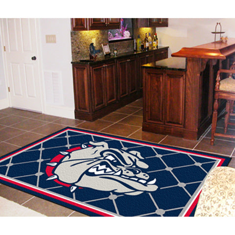 Gonzaga Bulldogs NCAA Floor Rug 4x6