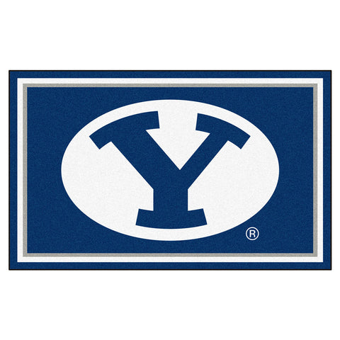 Brigham Young Cougars NCAA Floor Rug 4x6