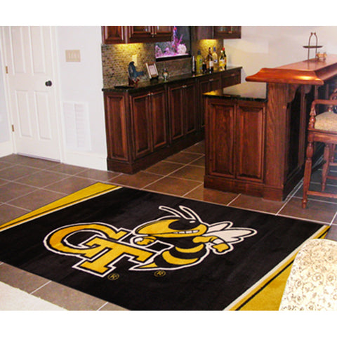 Georgia Tech Yellowjackets NCAA Floor Rug 5x8