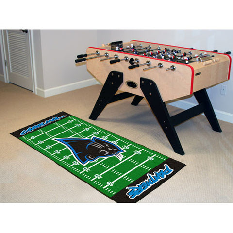 Carolina Panthers NFL Floor Runner 29.5x72