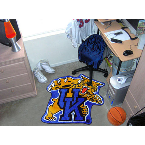 Kentucky Wildcats NCAA Cut Out Floor Mat Wildcat Logo