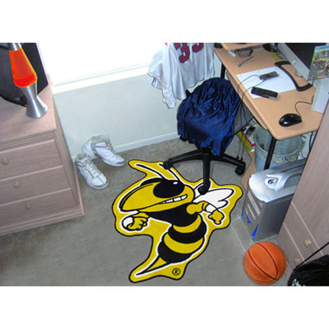 Georgia Tech Yellowjackets NCAA Cut Out Floor Mat