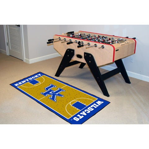 Kentucky Wildcats NCAA Court Runner 29.5x72