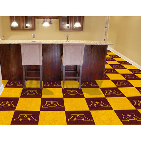 Minnesota Golden Gophers NCAA Team Logo Carpet Tiles