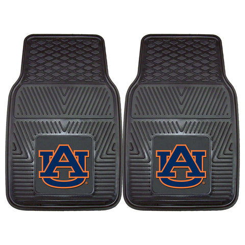 Auburn Tigers NCAA Heavy Duty 2 Piece Vinyl Car Mats 18x27