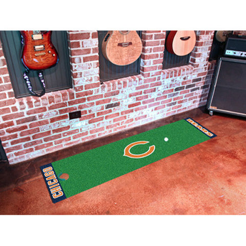 Chicago Bears NFL Putting Green Runner 18x72