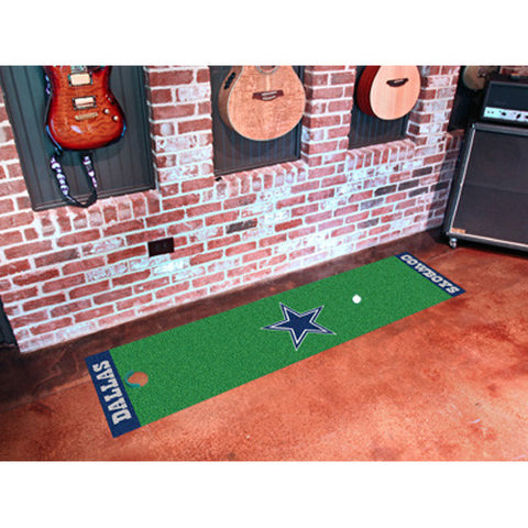 Dallas Cowboys NFL Putting Green Runner 18x72