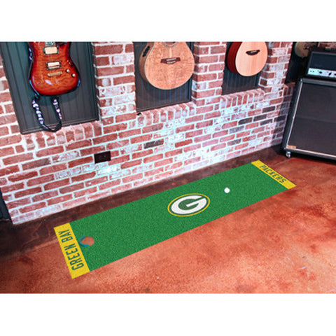 Green Bay Packers NFL Putting Runner 18x72