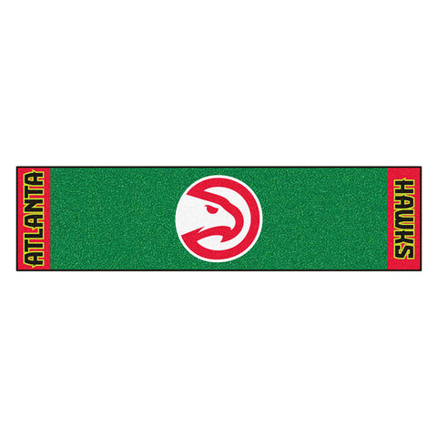Atlanta Hawks NBA Putting Green Runner 18x72