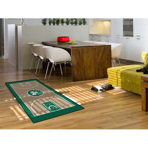 Boston Celtics NBA Court Runner 29.5x54