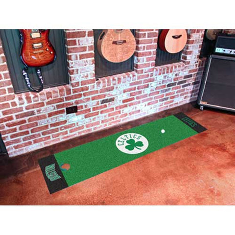 Boston Celtics NBA Putting Green Runner 18x72