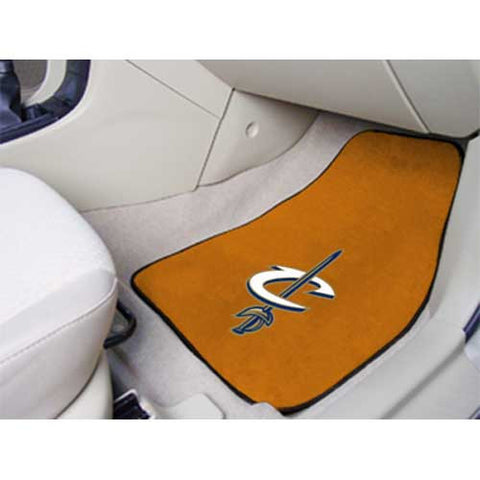 Cleveland Cavaliers NBA 2 Piece Printed Carpet Car Mats 18x27
