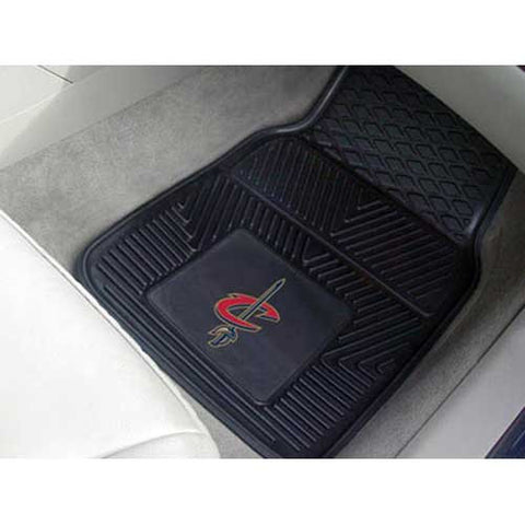 Cleveland Cavaliers NBA Heavy Duty 2 Piece Vinyl Car Mats 18x27