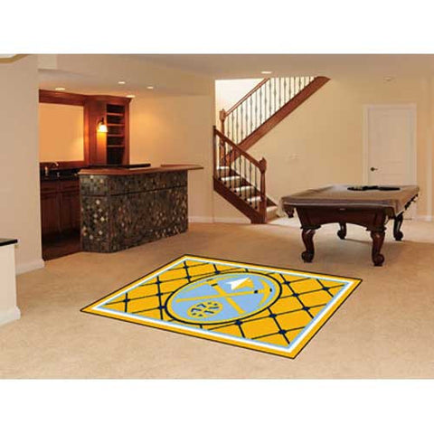 Denver Nuggets NBA 5x8 Rug 60x92