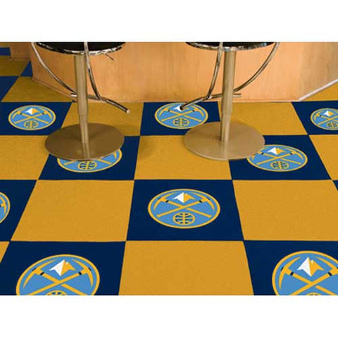 Denver Nuggets NBA Carpet Tiles 18x18