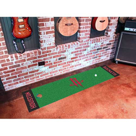 Houston Rockets NBA Putting Green Runner 18x72