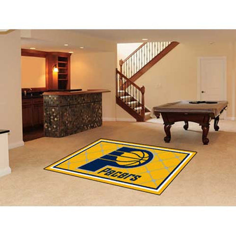 Indiana Pacers NBA 5x8 Rug 60x92