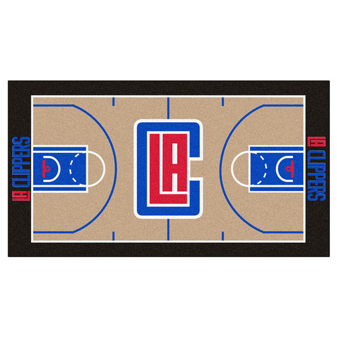 Los Angeles Clippers NBA Court Runner 29.5x54