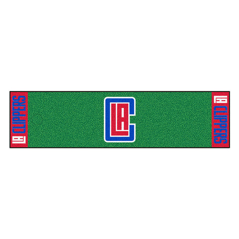 Los Angeles Clippers NBA Putting Green Runner 18x72