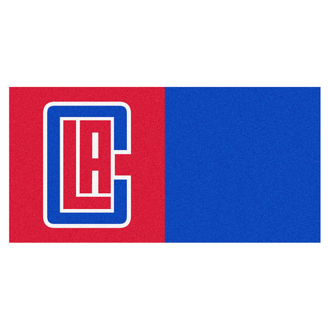 Los Angeles Clippers NBA Carpet Tiles 18x18