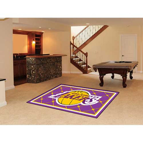 Los Angeles Lakers NBA 5x8 Rug 60x92