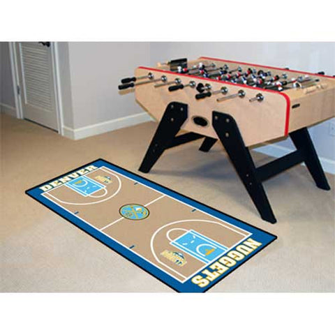 Denver Nuggets NBA 2x4 Court Runner 24x44