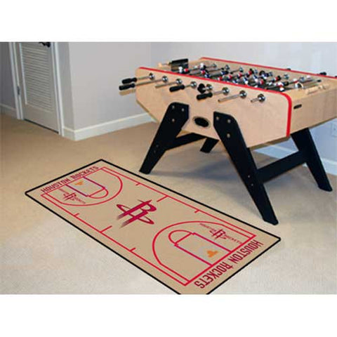 Houston Rockets NBA 2x4 Court Runner 24x44
