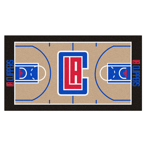 Los Angeles Clippers NBA 2x4 Court Runner 24x44