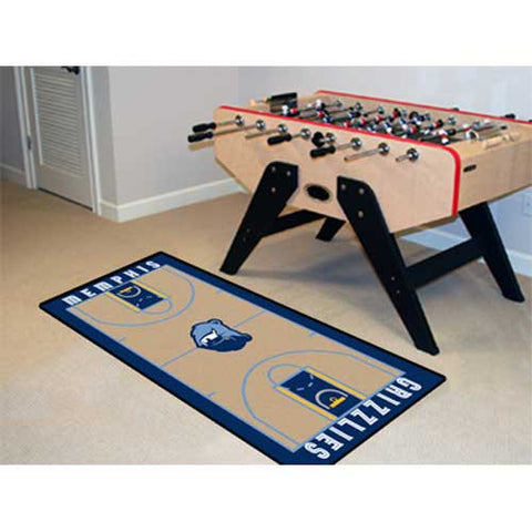 Memphis Grizzlies NBA 2x4 Court Runner 24x44