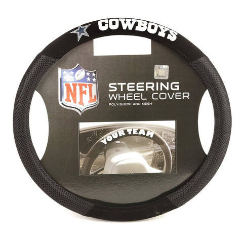 Dallas Cowboys NFL Mesh Steering Wheel Cover