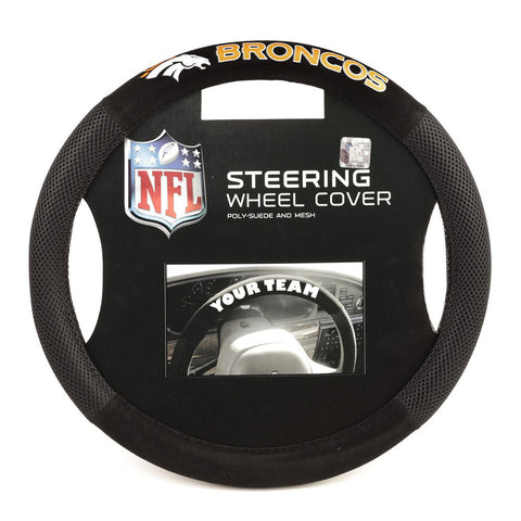 Denver Broncos NFL Mesh Steering Wheel Cover