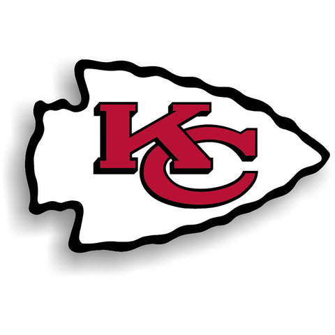 Kansas City Chiefs NFL 12 Inch Car Magnet