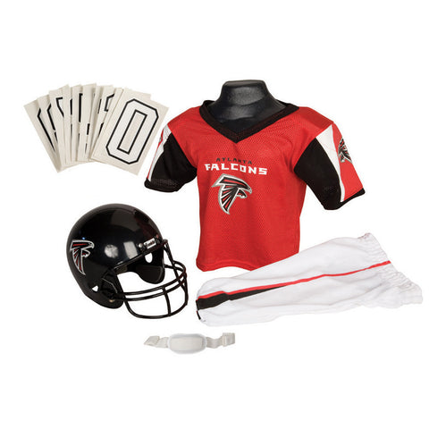 Atlanta Falcons Youth NFL Deluxe Helmet and Uniform Set