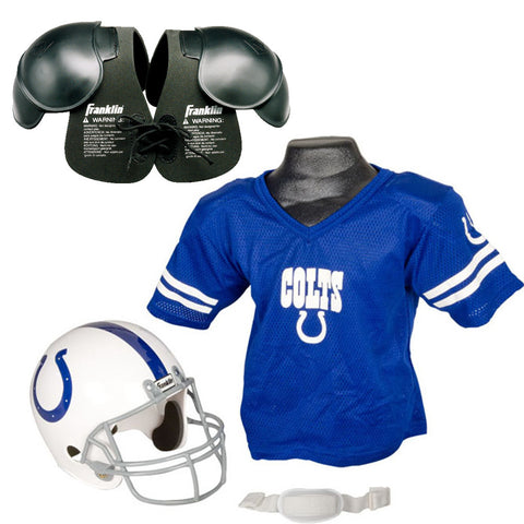 Indianapolis Colts NFL Helmet and Jersey SET with Shoulder Pads