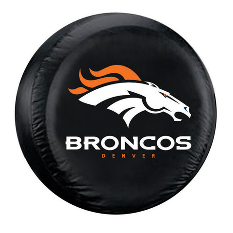 Denver Broncos NFL Spare Tire Cover Standard Black