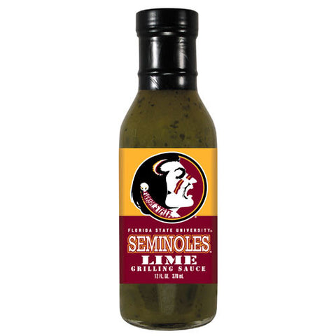 Florida State Seminoles NCAA Lime Grilling Sauce 5oz