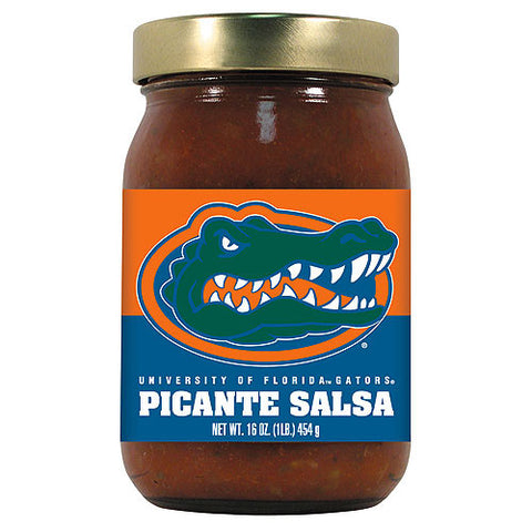 Florida Gators NCAA Picante Salsa 16oz