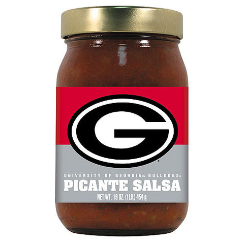 Georgia Bulldogs NCAA Picante Salsa 16oz