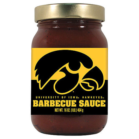 Iowa Hawkeyes NCAA Barbecue Sauce 16oz
