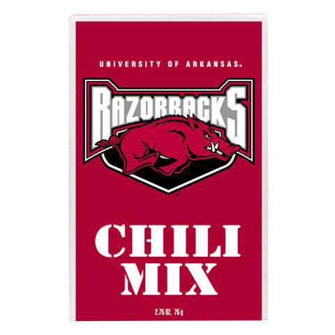 Arkansas Razorbacks NCAA Championship Chili Mix 2.75oz