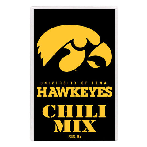 Iowa Hawkeyes NCAA Championship Chili Mix 2.75oz