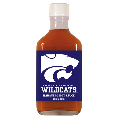 Kansas State Wildcats NCAA Habanero Hot Sauce in a Flask 6.6 oz