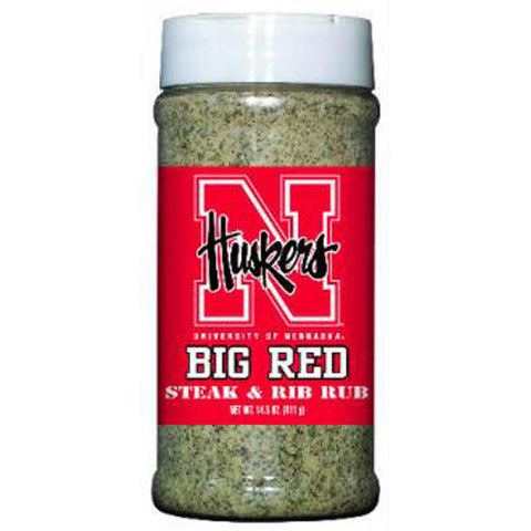 Nebraska Cornhuskers NCAA Steak and Rib Rub 14.5 oz