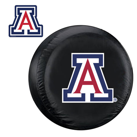 Arizona Wildcats NCAA Spare Tire Cover and Grille Logo Set Regular