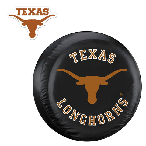 Texas Longhorns NCAA Spare Tire Cover and Grille Logo Set Regular