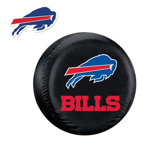 Buffalo Bills NFL Spare Tire Cover and Grille Logo Set Regular